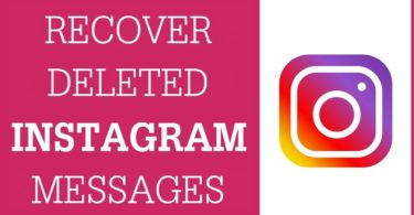 recover deleted Instagram direct messages