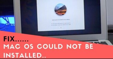 Mac OS could not be Installed on your Computer System