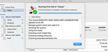 4. Run disk utility First Aid in safe mode