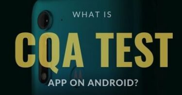 What is CQA Test App