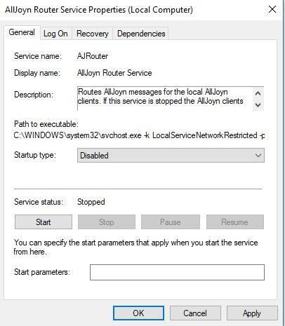 AllJoynRouterService