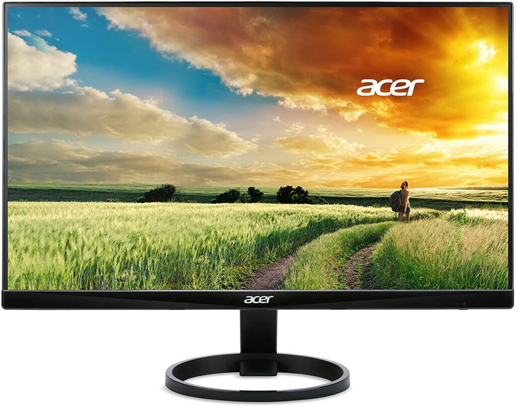 Acer R240HY Widescreen Monitor